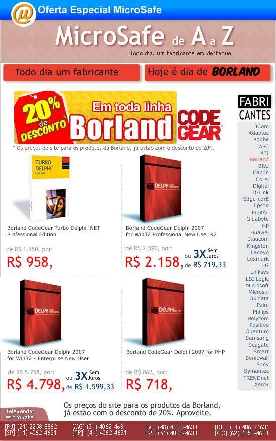 MicroSafe A_a_Z_Borland