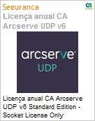 Licença anual CA Arcserve UDP v6 Standard Edition - Socket License Only UPGRADE-from-Earlier-Version-of-Same-Product License  (Figura somente ilustrativa, não representa o produto real)