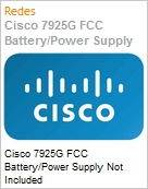 Cisco 7925G FCC Battery/Power Supply Not Included  (Figura somente ilustrativa, não representa o produto real)