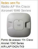 Ponto de acesso 11n Cisco Aironet 1040 Series AIR-LAP1042N-TK9 802.11a/g/n Fixed Unified Access Point  (Figura somente ilustrativa, não representa o produto real)
