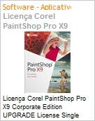 Licença Corel PaintShop Pro X9 Corporate Edition UPGRADE License Single User [SU] ES/EN Windows  (Figura somente ilustrativa, não representa o produto real)