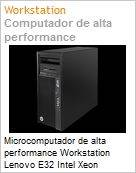 Microcomputador de alta performance Workstation Lenovo E32 Intel Xeon Quad-Core E3-1240 v3 (3.40GHz) 8GB 500GB DVD-RW Windows 7 Professional  (Figura somente ilustrativa, não representa o produto real)