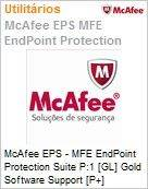Intel Security McAfee EPS - MFE Endpoint Protection Suite P:1 [GL] Gold Software Support [P+] ProtectPLUS (51-100 licenças)  (Figura somente ilustrativa, não representa o produto real)