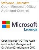 Open Microsoft Office Audit and Control Management OffAdtandCntrlMngmnt 2013 SNGL OLP NL Acdmc [Educacional] Academic  (Figura somente ilustrativa, não representa o produto real)