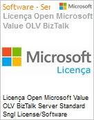 Licença Open Microsoft Value OLV BizTalk Server Standard Sngl License/Software Assurance Pack [LicSAPk] 2 Licenses No Level Additional Product Core License 2 Year Acquire (Figura somente ilustrativa, não representa o produto real)