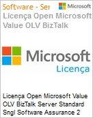 Licença Open Microsoft Value OLV BizTalk Server Standard Sngl Software Assurance 2 Licenses No Level Additional Product Core License 2 Year Acquired year 2 (Figura somente ilustrativa, não representa o produto real)