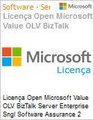 Licença Open Microsoft Value OLV BizTalk Server Enterprise Sngl Software Assurance 2 Licenses No Level Additional Product Core License 2 Year Acquired year 2 (Figura somente ilustrativa, não representa o produto real)