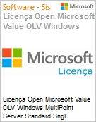 Licença Open Microsoft Value OLV Windows MultiPoint Server Standard SGNL License/Software Assurance Pack [LicSAPk] 1 License No Level Additional Product 1 Year Acquired ye (Figura somente ilustrativa, não representa o produto real)