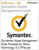 Symantec Asset Management Suite Powered by Altiris Technology 8.0 XPlat per Concurrent User Sub [Assinatura] License Express Band S [001+] Essential 12 Meses (Figura somente ilustrativa, não representa o produto real)