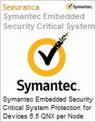 Symantec Embedded Security Critical System Protection for Devices 6.5 QNX per Node Sub [Assinatura] License Express Band F [500+] Essential 12 Meses (Figura somente ilustrativa, não representa o produto real)