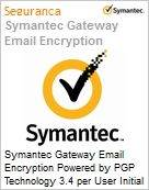 Symantec Gateway Email Encryption Powered by PGP Technology 3.4 per User Initial Essential 12 Meses Express Band A [001-024]  (Figura somente ilustrativa, não representa o produto real)