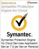 Symantec Protection Engine for Cloud Services Application Server 7.8 per Server Renewal [Renovação] Essential 12 Meses Express Band S [001+]  (Figura somente ilustrativa, não representa o produto real)