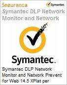 Symantec DLP Network Monitor and Network Prevent for Web 14.5 XPlat per Managed User Xgrd [Crossgrade] License from DLP Ntwk Mon Express Band S [001+] (Figura somente ilustrativa, não representa o produto real)