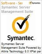Symantec Server Management Suite Powered by Altiris Technology 8.0 XPlat per Device Sub [Assinatura] License Express Band S [001+] Essential 12 Meses (Figura somente ilustrativa, não representa o produto real)