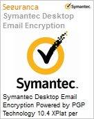 Symantec Desktop Email Encryption Powered by PGP Technology 10.4 XPlat per User Initial Essential 12 Meses Express Band E [250-499]  (Figura somente ilustrativa, não representa o produto real)