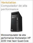 Microcomputador de alta performance Workstation HP Z230 Intel Xeon Quad-Core E3-1241 v3 (3.50Ghz) 8GB 1TB Windows 8.1 Professional NVIDIA K22004GB (Figura somente ilustrativa, não representa o produto real)